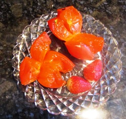 Hachiya persimmons, jelly soft ripe