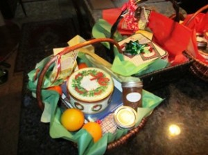 Holiday baskets can be generic or highly personalized
