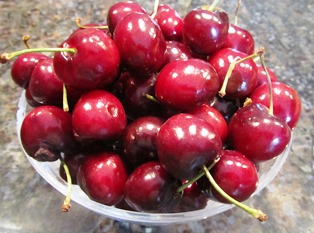 Ripe cherries will be made into preserves or mixed with oranges for a marmalade