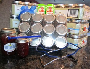 Jars and canning equipment