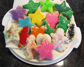 Holiday cookies are always fun to decorate