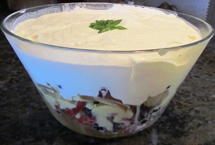 A trifle makes an elegant staple among Thanksgiving desserts when someone is looking for an alternative to pie