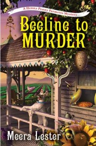 The book cover for my debut novel, the first in the Henny Penny Farmette mystery series