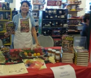 Ready to prepare some sachets and sell and sign a book