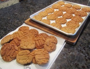 These cookies are characterized by a golden brown color and lovely texture