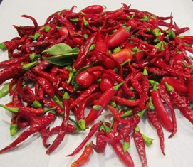 Cayenne peppers take about 65 days to ripen and average 30,000-50,000 SHU
