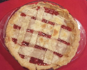 Once cherry picking season is over, I can hardly face another  piece of cherry pie (no matter how flaky the crust).